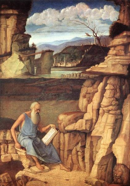 St Jerome reading EUR